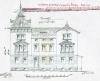 Hausansicht der Villa um 1893, Quelle: Stadtarchiv Stuttgart.